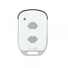 2 channel remote controller with status indicator