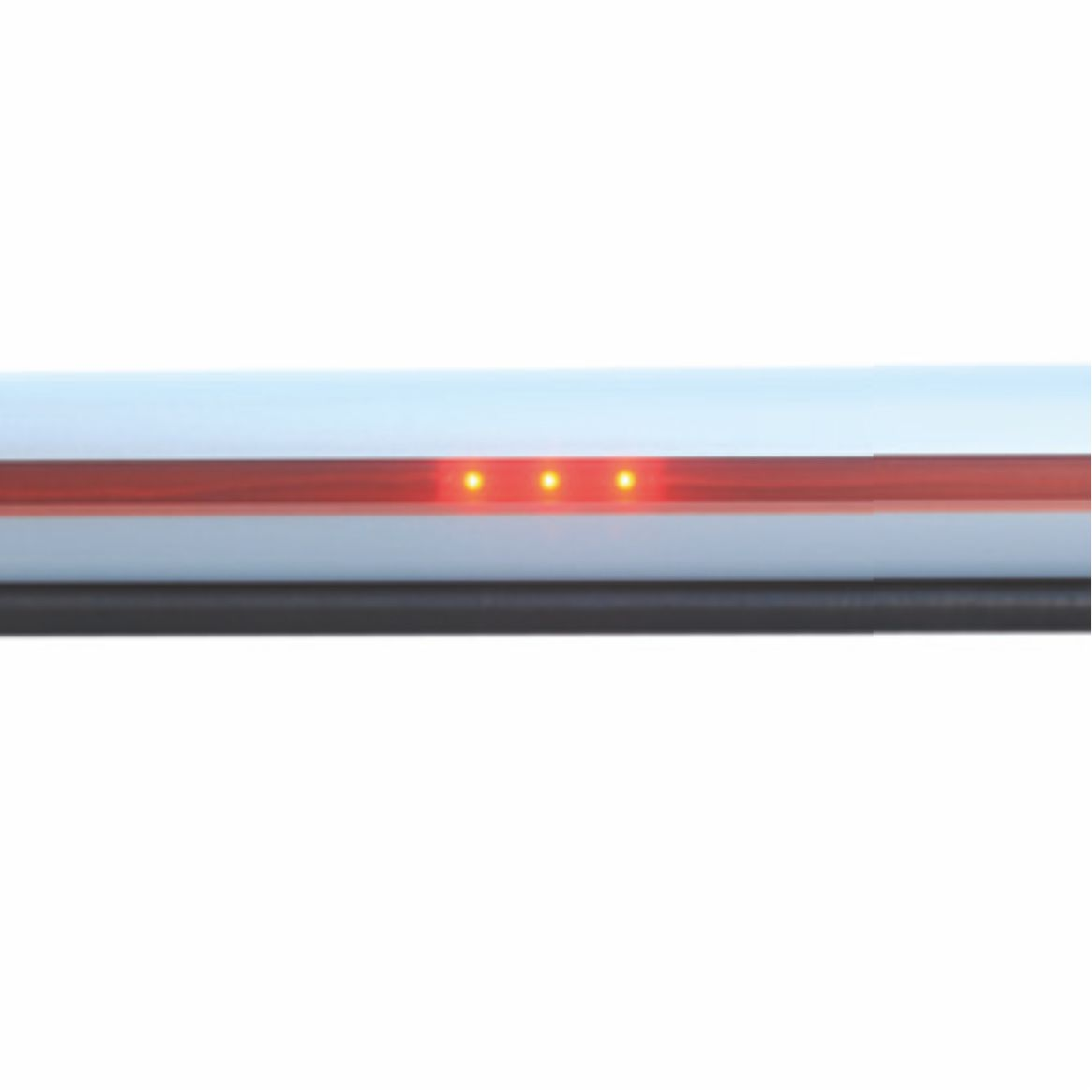 electromechanical boom lighting details red line white