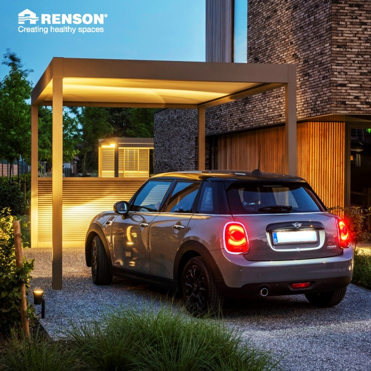 penson pergola for car driveway garage alternative parking home